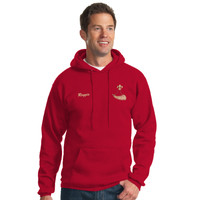 PC90HT - BSAE023 - EMB - Tall Pullover Hoodie