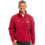 PH - Powderhorn Logo - TLF217 - Tall 1/4 Zip Fleece Pullover