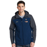 PH - Powderhorn Logo - J335 - Hooded Soft Shell Jacket