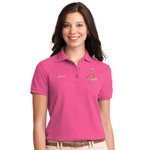 PH - Powderhorn Logo - L500 - Ladies Silk Touch Polo